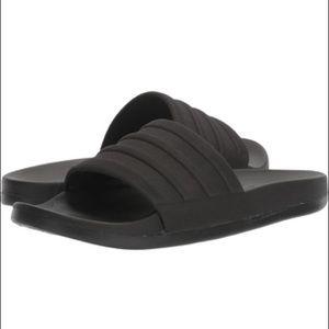 Adidas Adilette Cloudfoam Mono Slides Women's 8